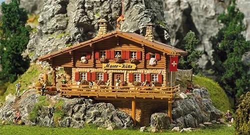 Faller 130329 - Moser Chalet Alpine hut