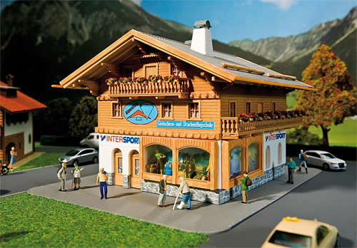 Faller 130331 - Sports outfitters/Paragliding school