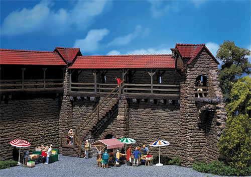 Faller 130403 - 2 Old-Town peel towers