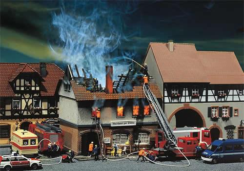 Faller 130429 - Zur Sonne Burnt-down restaurant