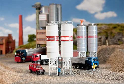 Faller 130476 - 2 Industrial silos