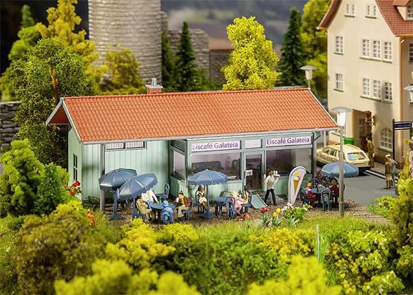 Faller 130514 - Ice-cream parlour