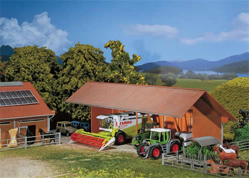 Faller 130521 - Implement shed