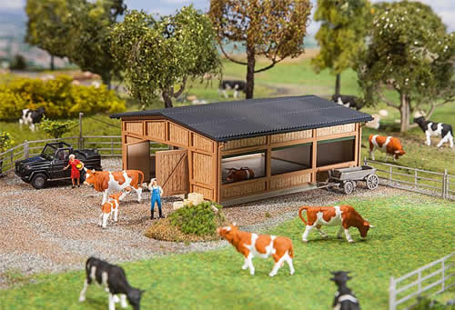 Faller 130547 - Livestock shelter