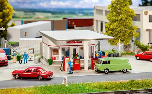 Faller 130590 - 50s Filling station
