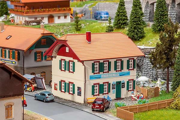 Faller 130596 - Rheinblick Boardinghouse
