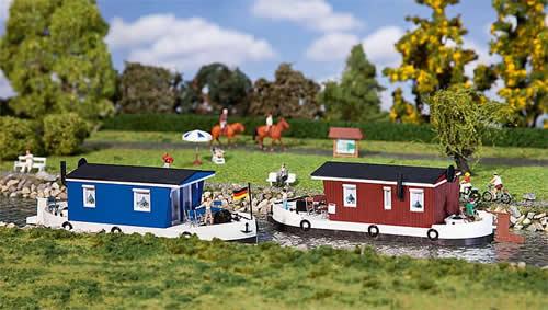 Faller 131008 - 2 Houseboats