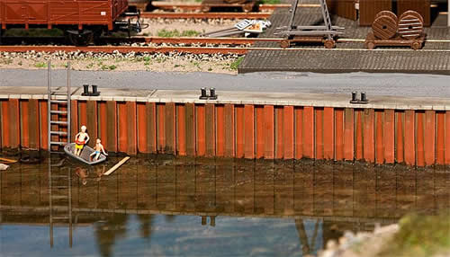 Faller 131012 - Quay wall