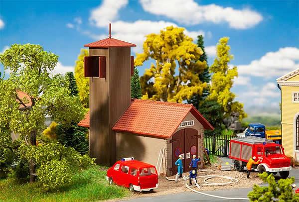 Faller 131383 - Fire brigade engine house