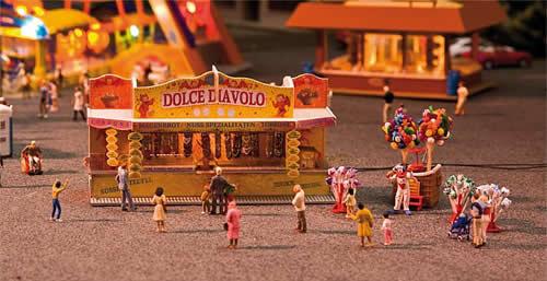 Faller 140353 - 2 Fairground booths