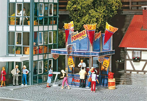 Faller 140444 - XXL French Fries Fairground booth