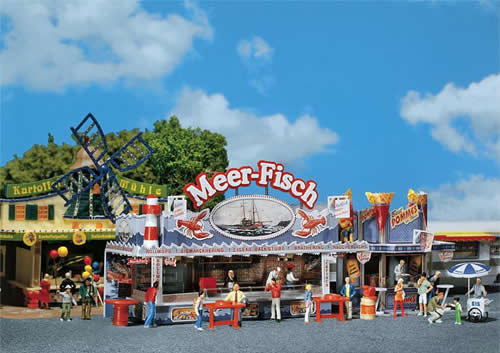Faller 140445 - Sea Fish Fairground booth