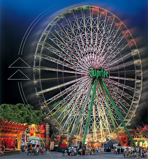 Faller 140470 - Jupiter Ferris wheel