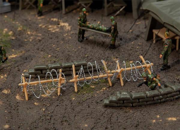 Faller 144122 - Wire barriers