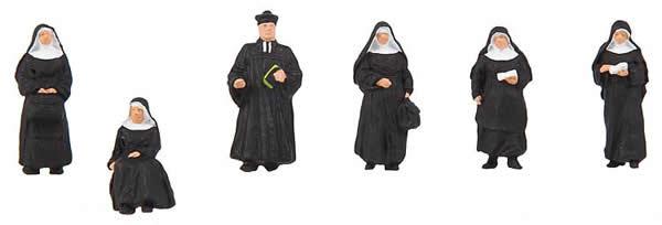 Faller 150942 - Nuns and parson
