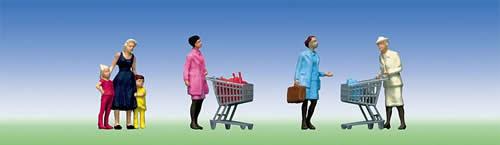 Faller 151035 - Supermarket/shopping trolleys