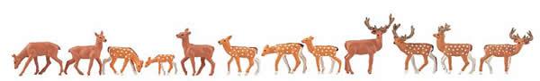 Faller 151906 - Fallow deer, red deer