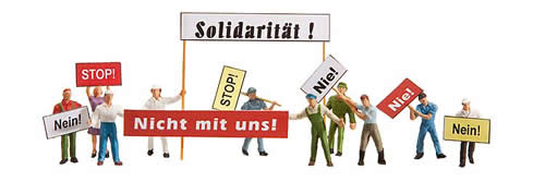Faller 153043 - Demonstrators