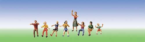 Faller 153050 - Fairground Set of figures I
