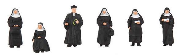 Faller 155360 - Nuns and parson