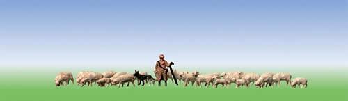 Faller 155510 - Shephard + sheep