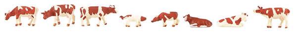 Faller 155902 - Cows, brown flecked