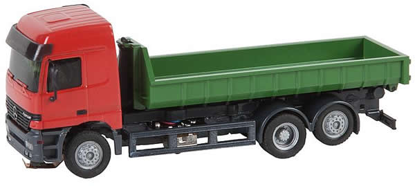 Faller 161481 - Lorry MB Actros LH'96 Roll-off Container (HERPA)