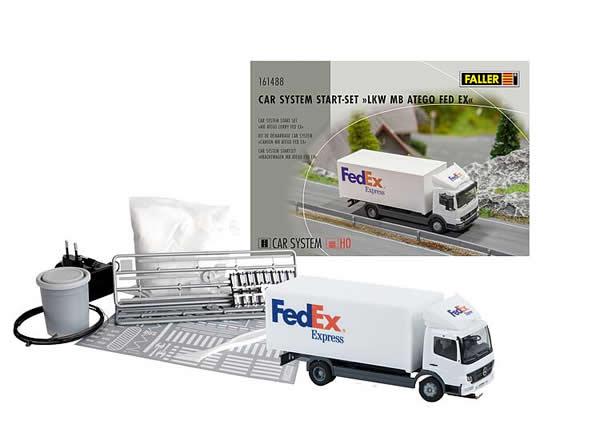Faller 161488 - Car System Start-Set MB Atego Lorry FedEx