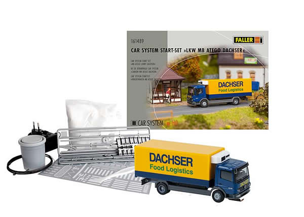Faller 161489 - Car System Start-Set MB Atego Lorry Dachser