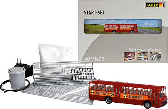 Faller 161498 - Car System Start-Set MB O317k Bus Jägermeister
