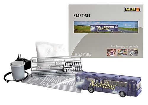Faller 161499 - Car System Start-Set Night-Bus