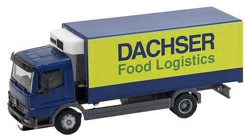 Faller 161555 - Truck MB Atego Dachser Refrigerated Box (HERPA)