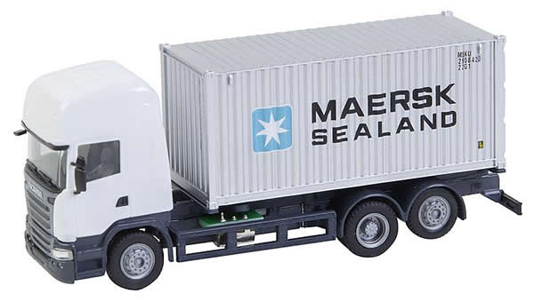 Faller 161598 - Lorry Scania R 13 TL Sea container (HERPA)