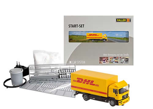 Faller 161607 - Car System Start-Set DHL lorry