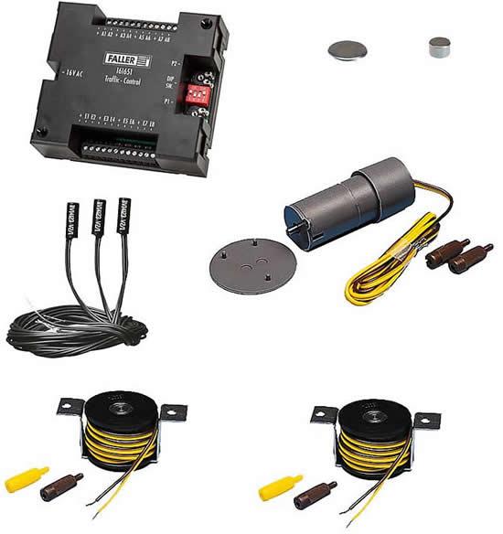 Faller 161622 - Car System Basic set Components