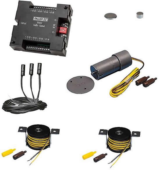Faller 161622 - Car System Basic set Components