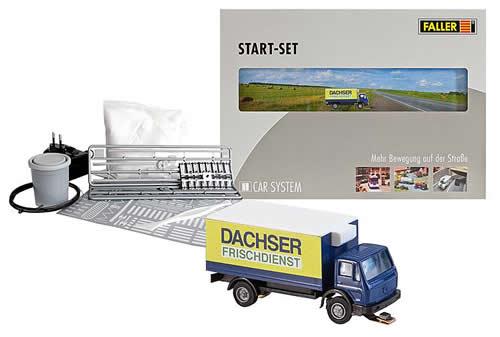 Faller 162007 - Car System Start-Set Lorry MB SK Dachser