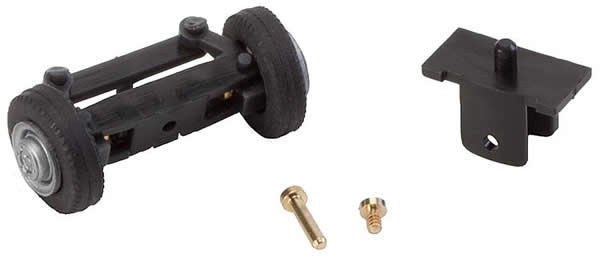 Faller 163008 - Front axle, completely assembled for delivery trucks (with wheels)