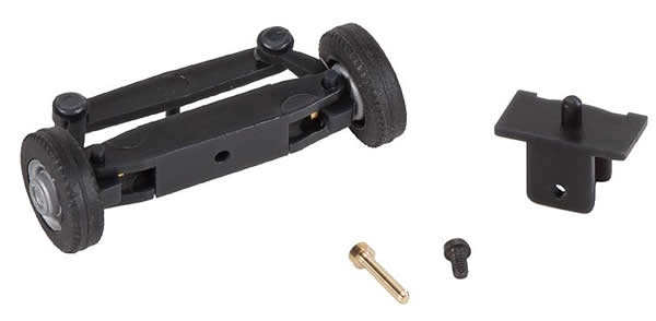 Faller 163015 - Front axle, completely assembled for bus (with wheels)