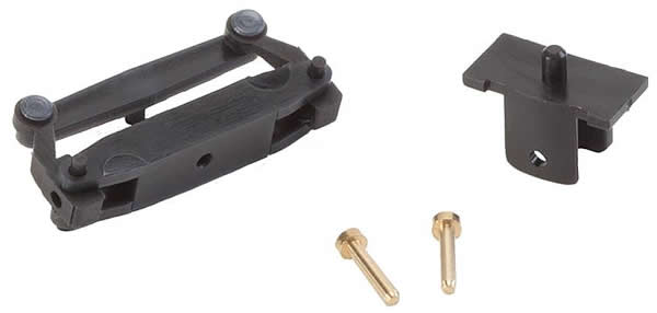 Faller 163051 - Front axle, assembled for lorries without wheels (17 mm)