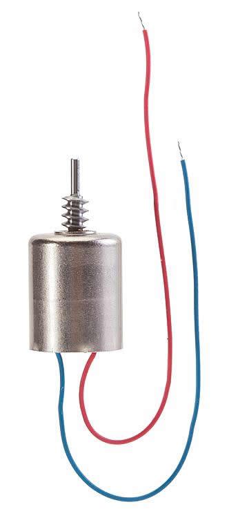 Faller 163301 - Motor, Ø 10 mm, left worm, module 0.3