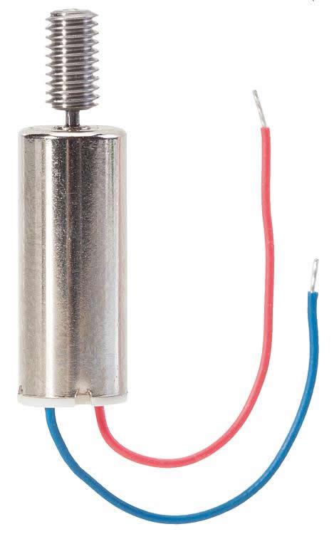Faller 163308 - Motor, Ø 6 mm long, module 0.16 five-pole