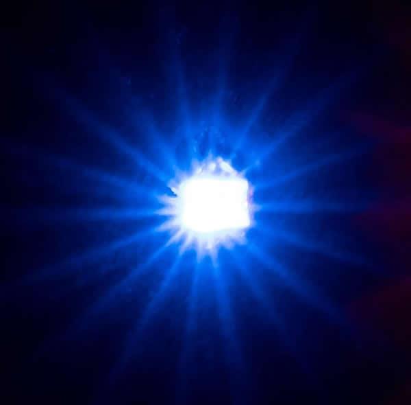 Faller 163742 - 5 self-flashing LEDs, blue
