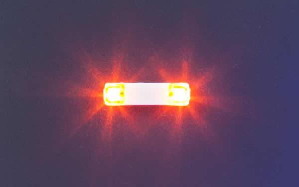 Faller 163760 - Flashing lights, 13.5 mm, orange