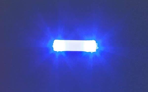 Faller 163761 - Flashing lights, 13.5 mm, blue