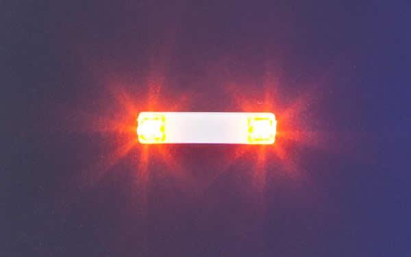 Faller 163762 - Flashing lights, 15.7 mm, orange
