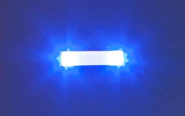 Faller 163763 - Flashing lights, 15.7 mm, blue