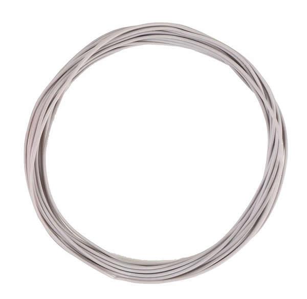 Faller 163784 - Stranded wire 0.04 mm², grey, 10 m