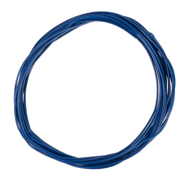 Faller 163786 - Stranded wire 0.04 mm², blue, 10 m