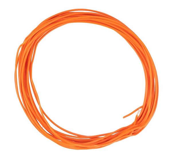 Faller 163789 - Stranded wire 0.04 mm², orange, 10 m